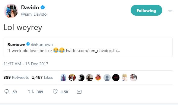 image results for davido and runtown twitter