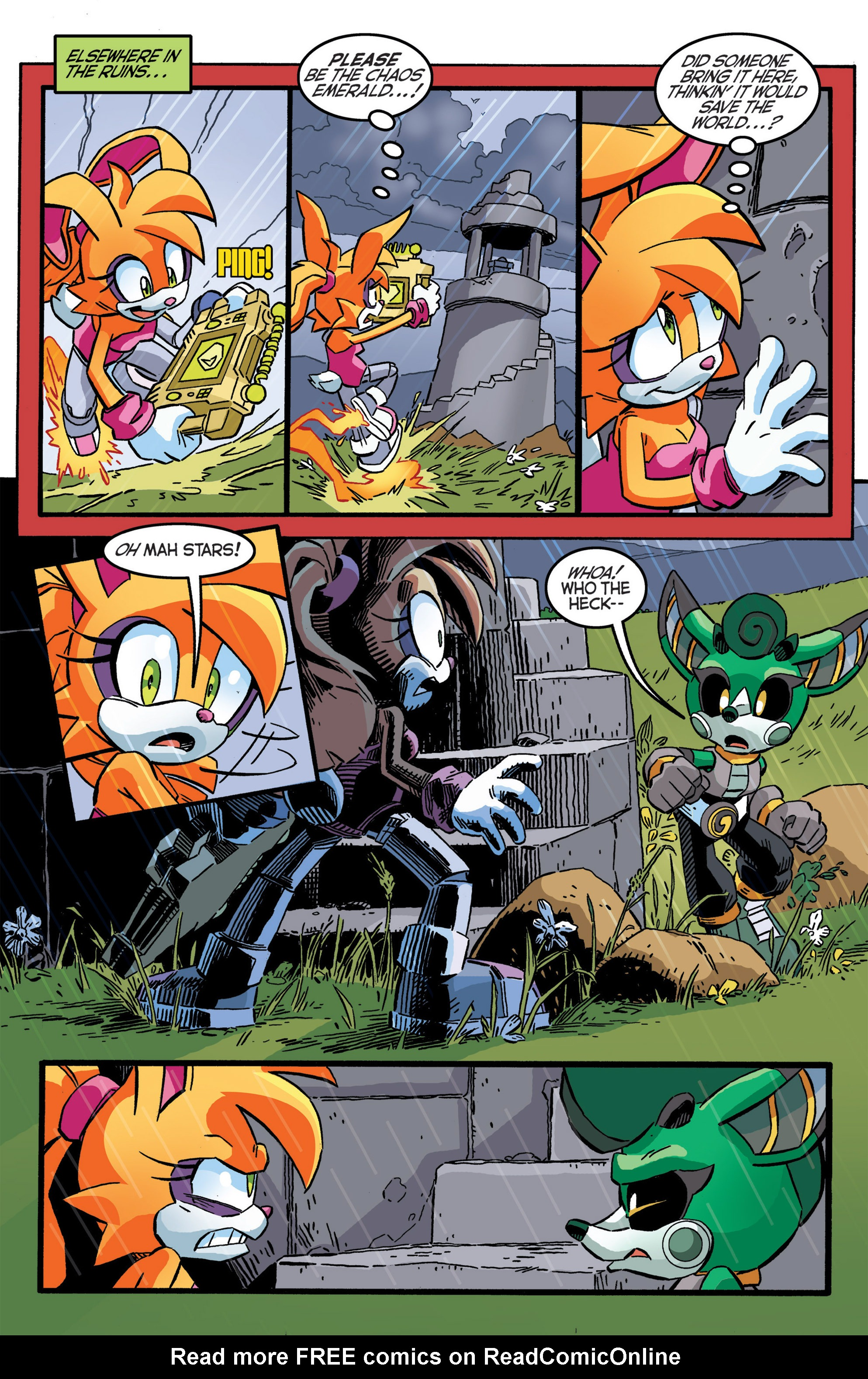 Read online Sonic The Hedgehog comic -  Issue #277 - 20