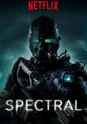 Spectral Netflix Movie Poster