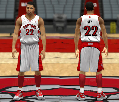 NBA 2K13 Toronto Raptors Home Jersey NBA2K Mods