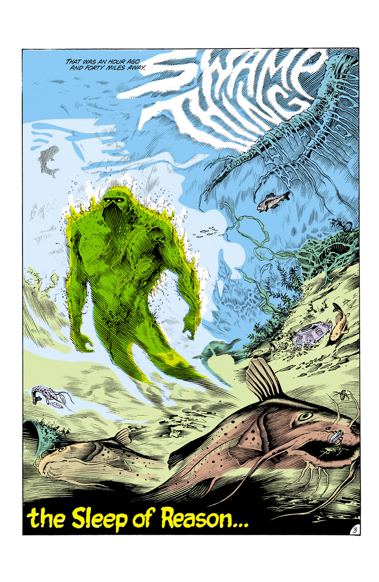 Swamp Thing (1982) Issue #25 #33 - English 4