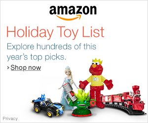 Amazon's 2014 Holiday Toy List #HolidayGiftGuide via www.productreviewmom.com