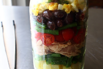 Norcal Nicoise Salad – Layered for Your Pleasure