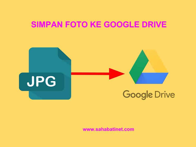 Cara Menyimpan gambar di google drive