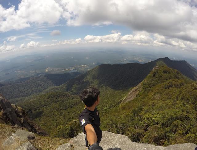 Hiking Hingga ke Puncak Gunung Ledang, Google Maps oleh Radien Krowry