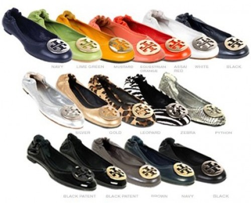 5010ea820bf0 Pretty.Random.Things.  Shoe Review  TORY BURCH Reva ballet flats