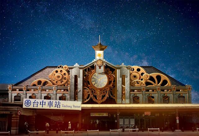 trainlight - 2017臺中光影藝術節搶先看│3D光雕秀、行動光影車與城市遊戲與你5/27~5/28相見歡