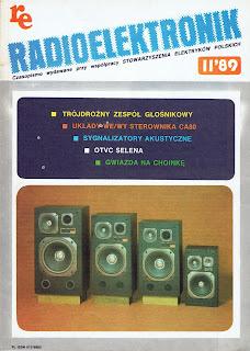 Okładka czasopisma Radioelektronik 11'89