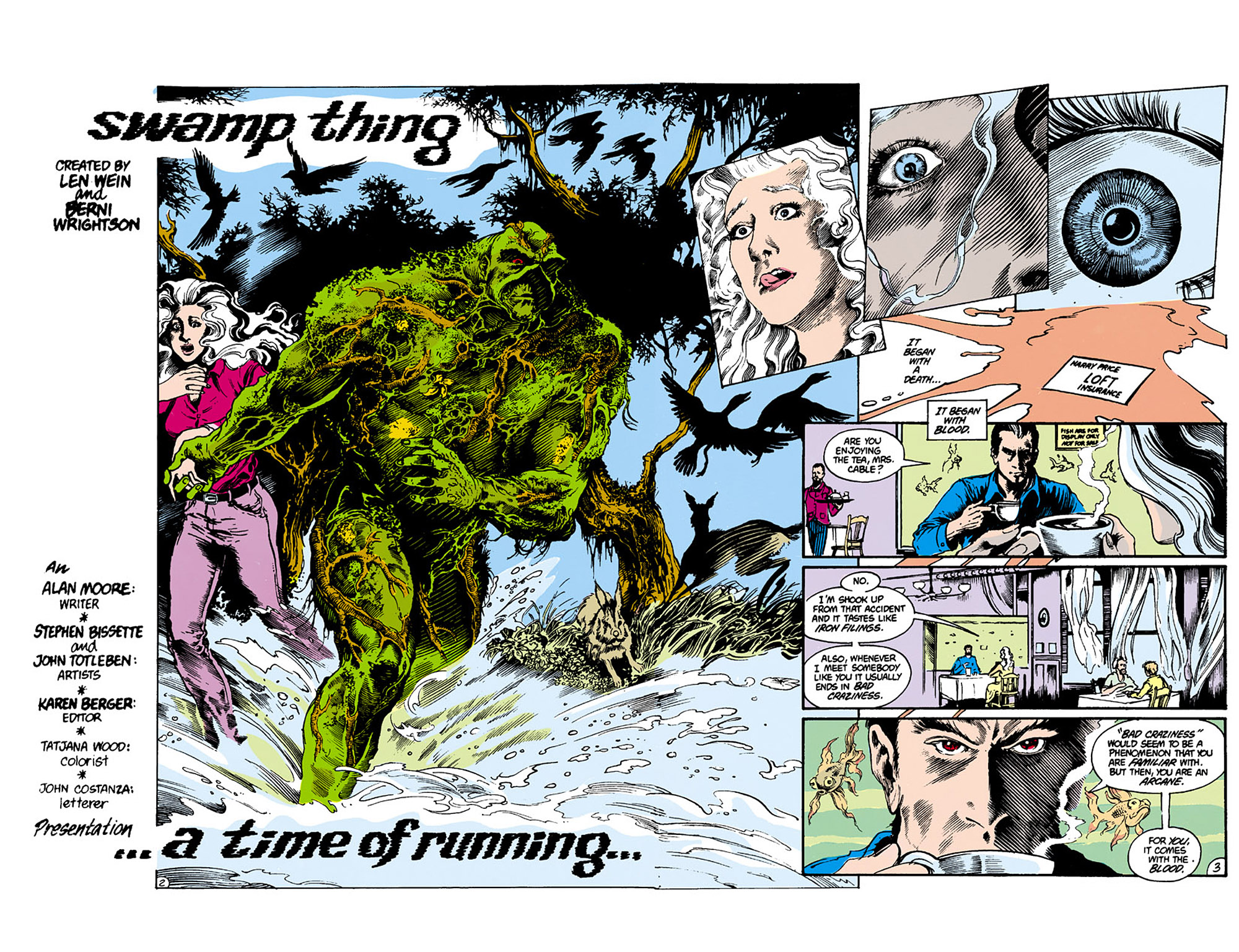 Swamp Thing (1982) Issue #26 #34 - English 3