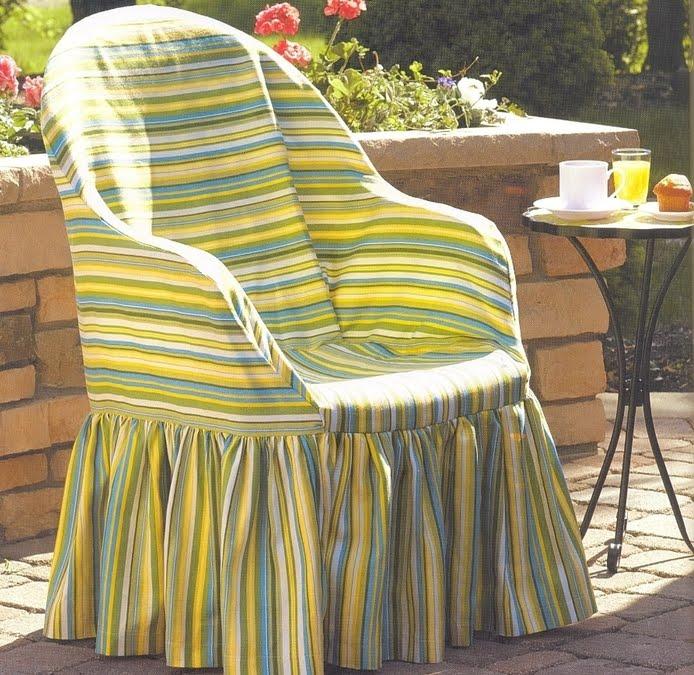Como hacer forros para sillas - Forrar sillas con tela ...