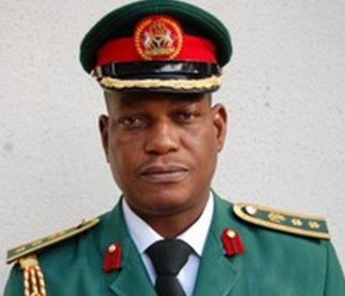 nigerian army general support boko haram