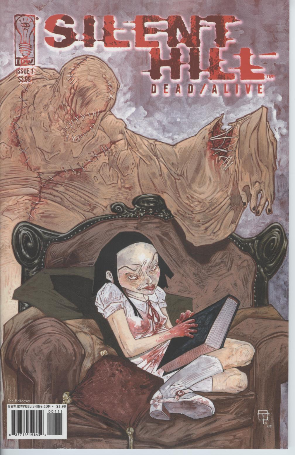 Read online Silent Hill: Dead/Alive comic -  Issue #1 - 1