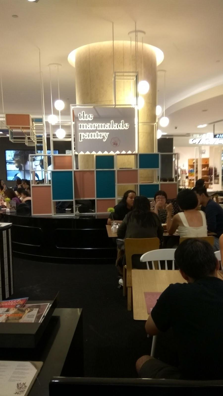 DrYingzangel com: Makan makan at Orchard Road- the Marmalade