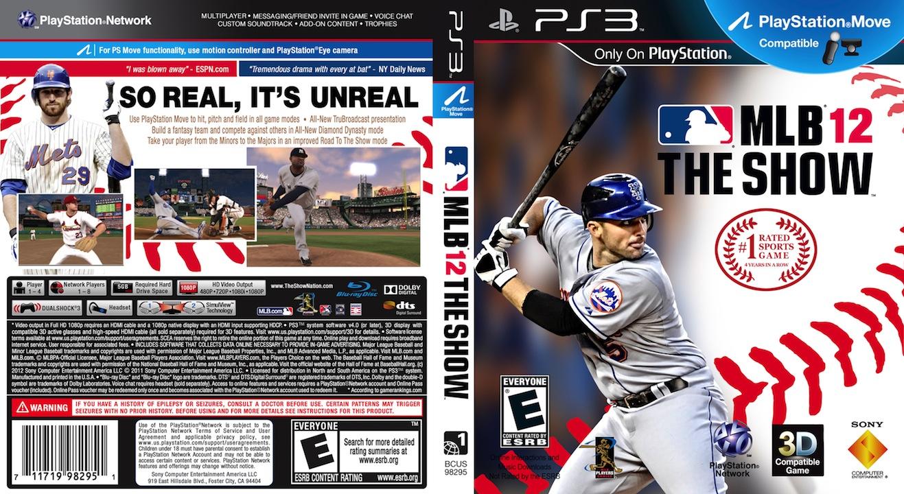 537165b5dfe Custom MLB 12 The Show covers  Mets full cover