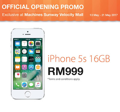 Apple iPhone 5s Malaysia Price Discount Offer Promo
