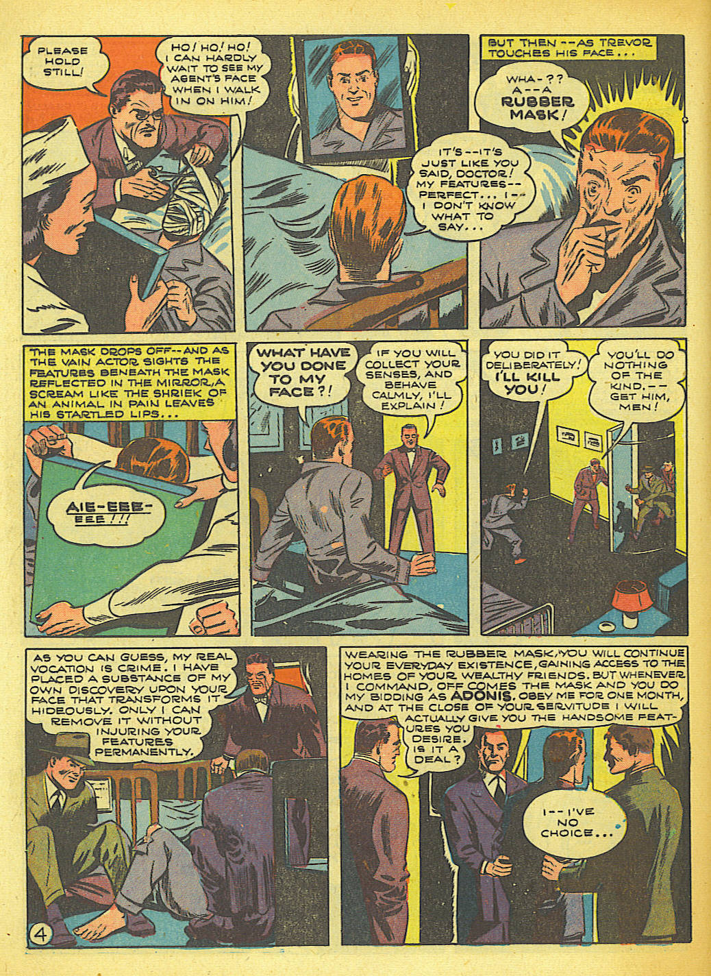 Read online Action Comics (1938) comic -  Issue #58 - 5
