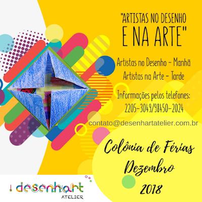 Colônia de Férias - Dez. de 2018 - Rio de Janeiro