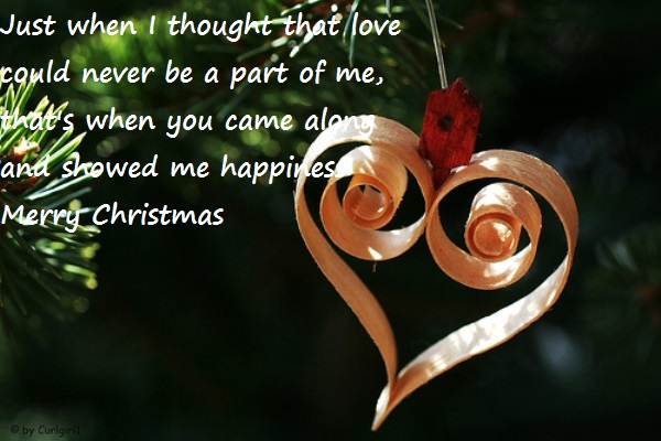 Christmas Love Messages Image free Download