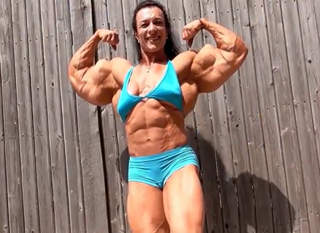 Video Bodybuilding motivation! Female Bodybuilding! Muscular women! Strong women IFBB 2018