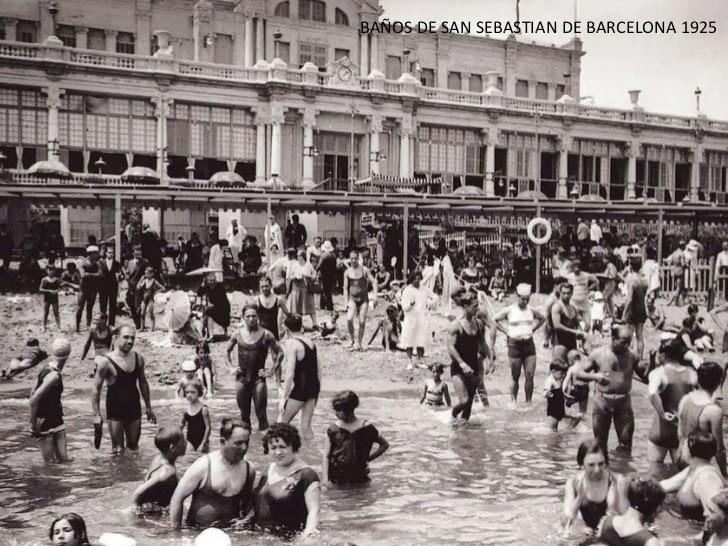 Banos San Sebastian.Barcelona Ahora Y Siempre Los Banos De La Barceloneta
