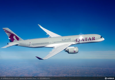Airbus A350-941, A7-ALA, Qatar Airways