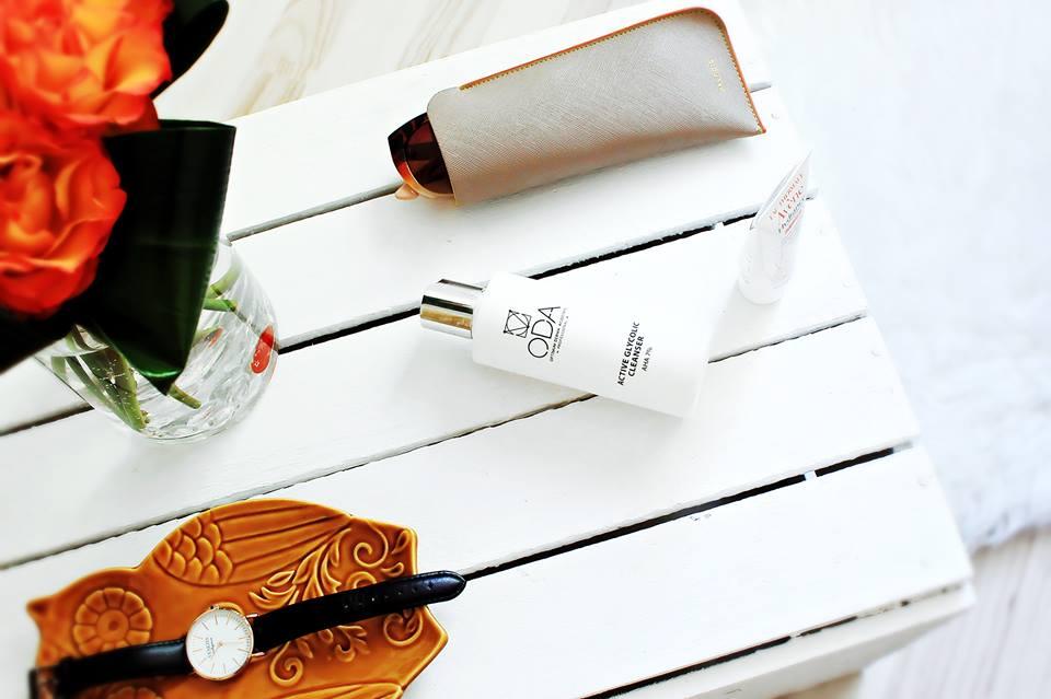 Kosmetyczne odkrycie Maja, czyli: ODA Aktywny żel oczyszczający z kwasem glikolowym 7%.