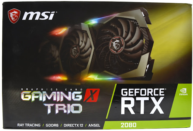 MSI RTX 2080 Gaming X Trio Unboxing