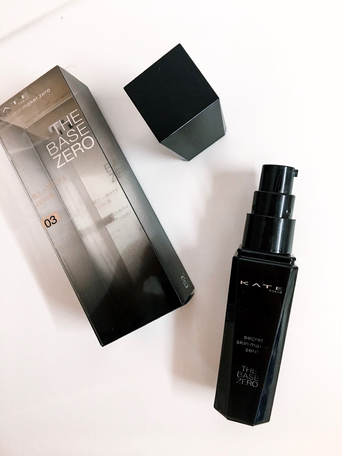 KATE Tokyo Secret Skin Maker Zero Liquid Foundation Review