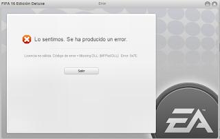 fifa 16 problem windows 10 n