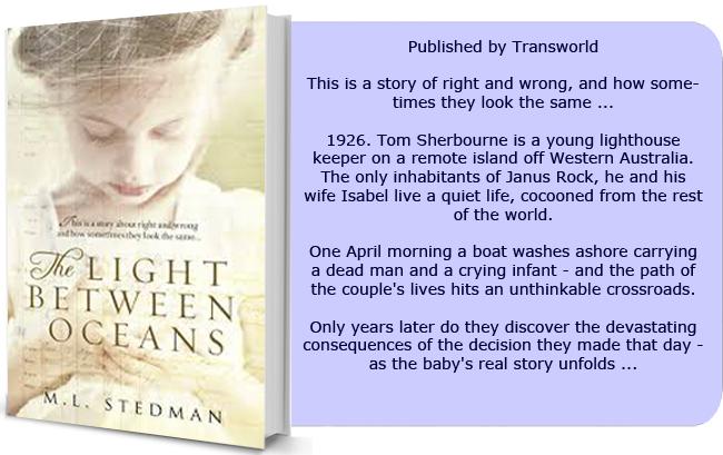 Ml Stedman Light Between Oceans