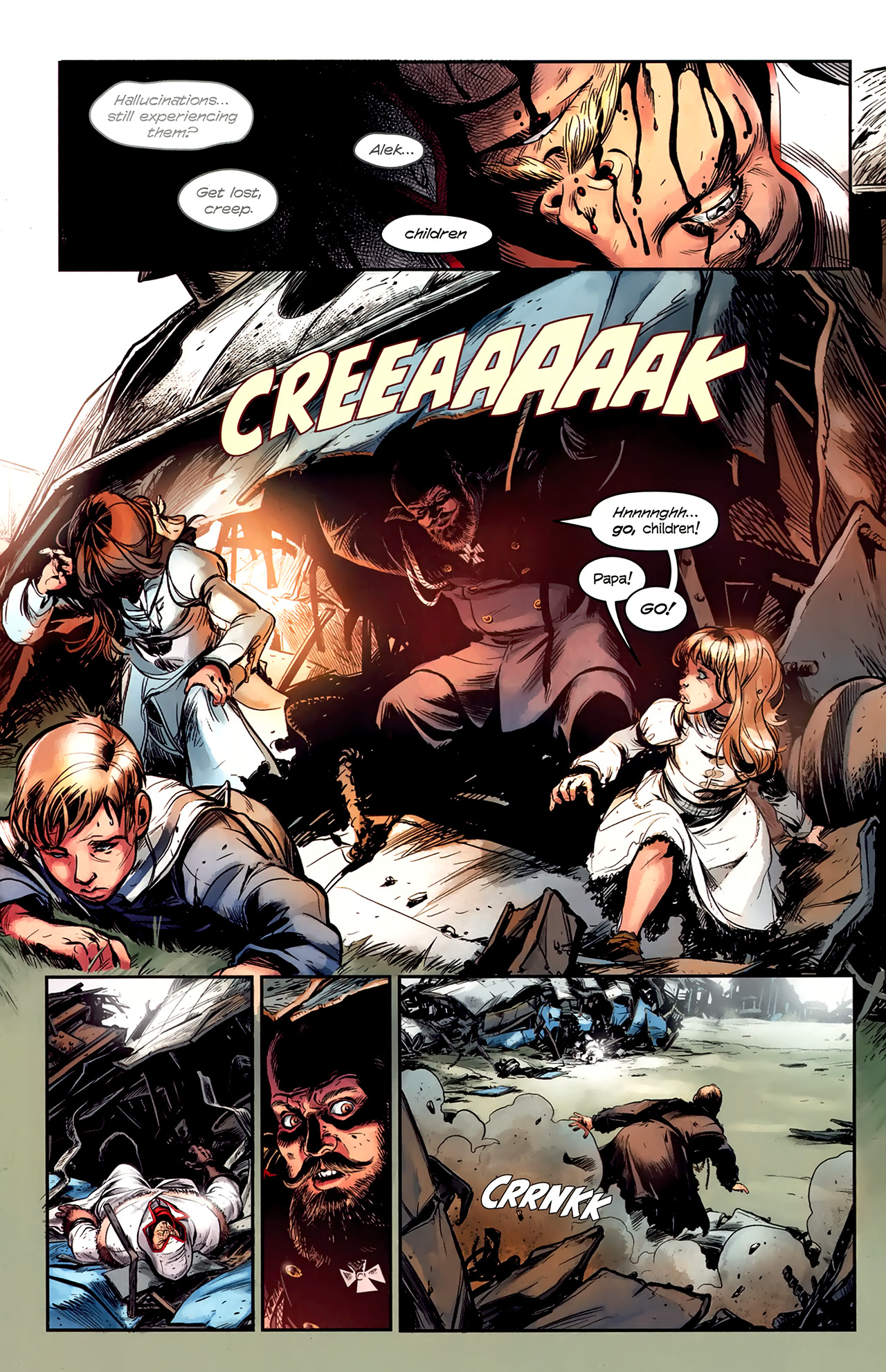 Read online Assassin's Creed: The Fall comic -  Issue #1 - 18