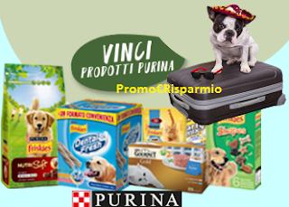 Logo ''Fatti con lo zampino'': vinci gratis 210 forniture cane/gatto e un viaggio pet-friendly
