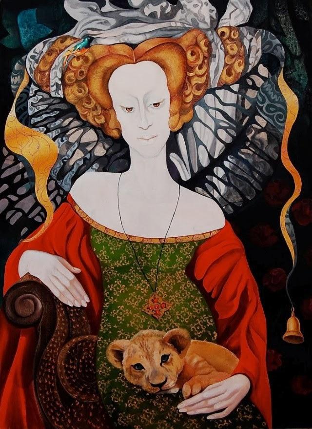 Украинская художница. Tatyana Binovskaya