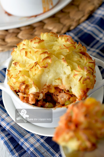 easy healthy chicken shepherd's pie