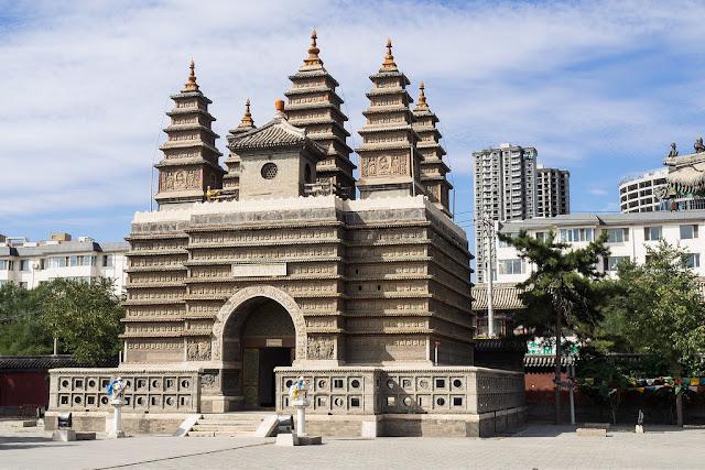 Five Pagoda Temple - Paket Tour 9H7M Harbin Dec 2018 - Jan 2019 by Batik Air - Salika Travel