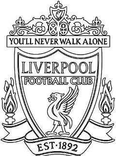 Liverpool Futbol Club Logo Coloring Coloring Pages