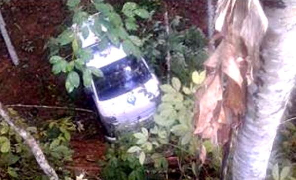 Berita Kawasan Barabai - Kalimantan (Mobil PusKesMas Hantakan masuk Jurang)