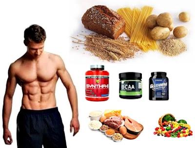 Batidos de proteínas y ejemplos de alimentos que deben comer los hombres ectomorfos