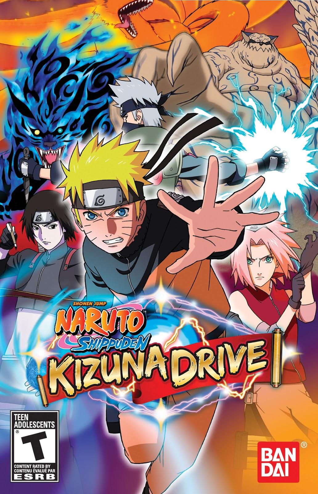 Dream Games: Naruto Shippuden - Kizuna Drive