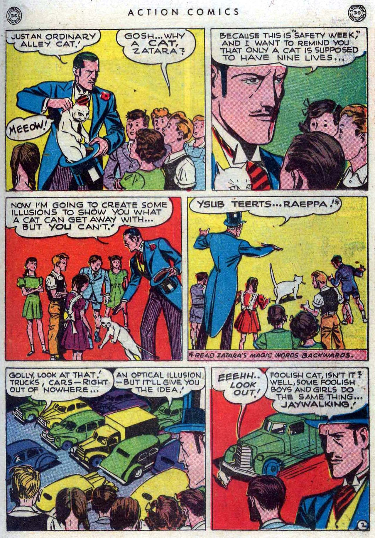 Read online Action Comics (1938) comic -  Issue #110 - 19