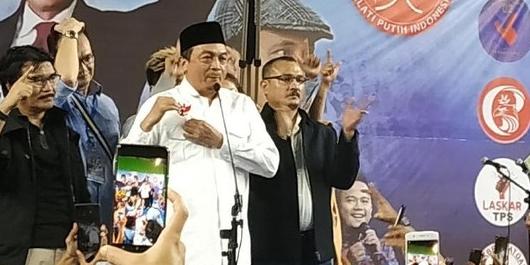 Dukung Prabowo, Bachtiar Nasir Sebut Isu Pro-Khilafah Tuduhan Tolol