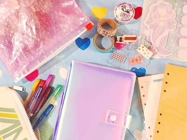 My Heidi Swapp Fresh Start Iridescent Personal Planner