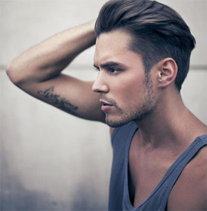 Young Man Hair Cut Photo 1