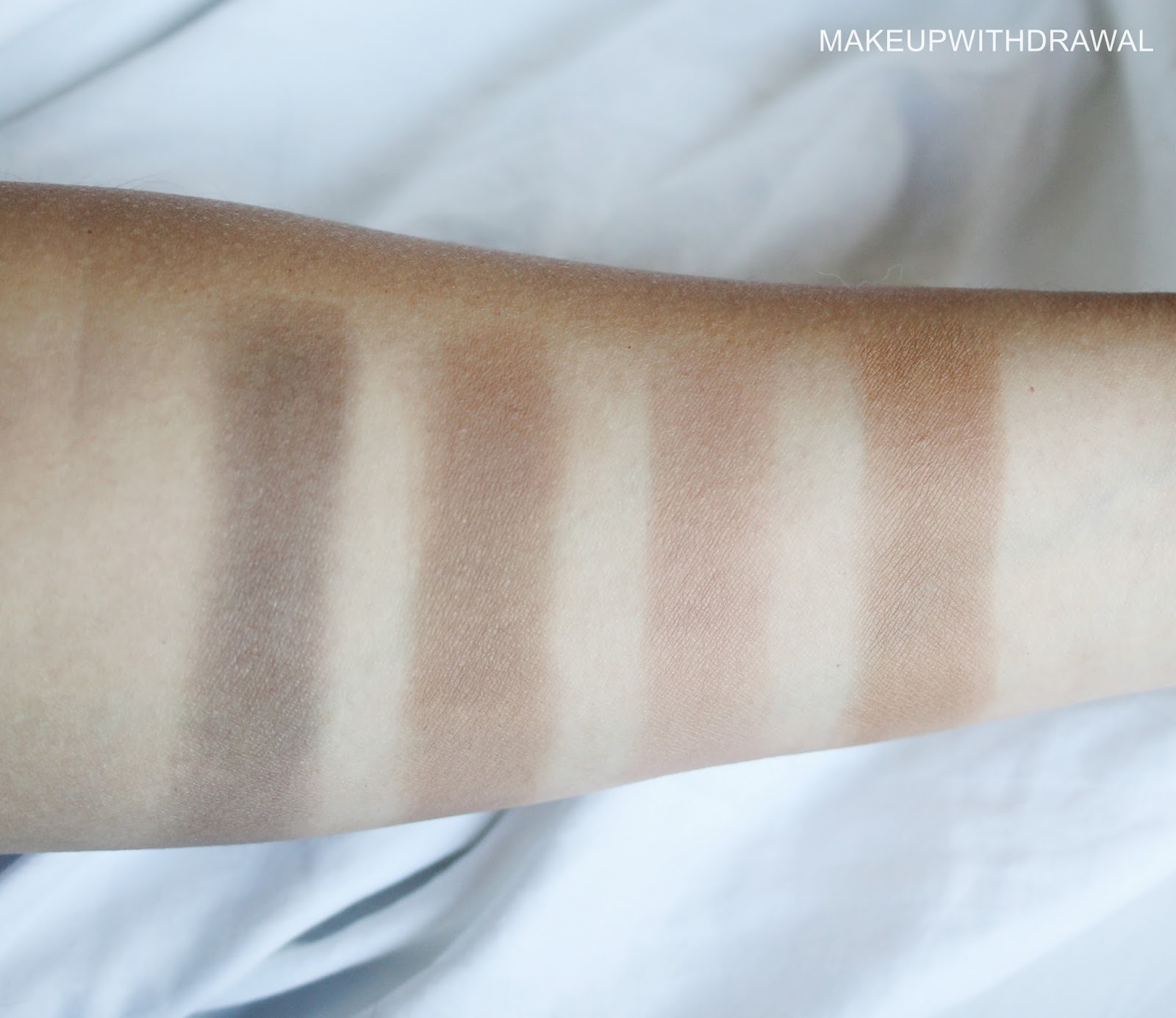 7e9ad110891f Swatches and comparisons. Left to right  Chanel Notorious JC