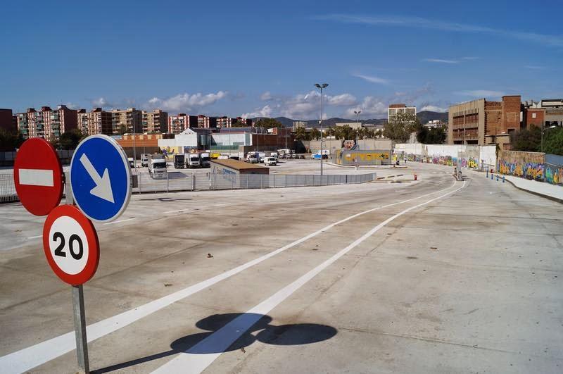 parking de autocaravanas de Barcelona Citystop