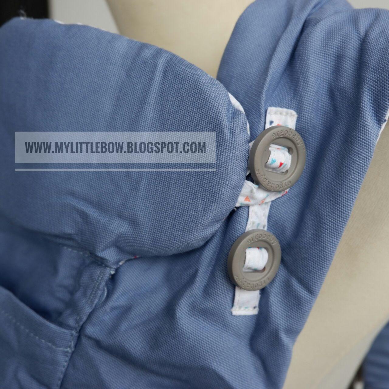 4f483218eab Karena bagian dalam ergo adapt sudah ada lapisan busa-nya sehingga mampu  membungkus rapat baby seperti dalam pelukan.