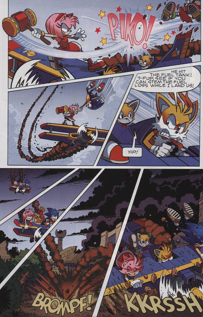 Read online Sonic The Hedgehog comic -  Issue #243 - 10