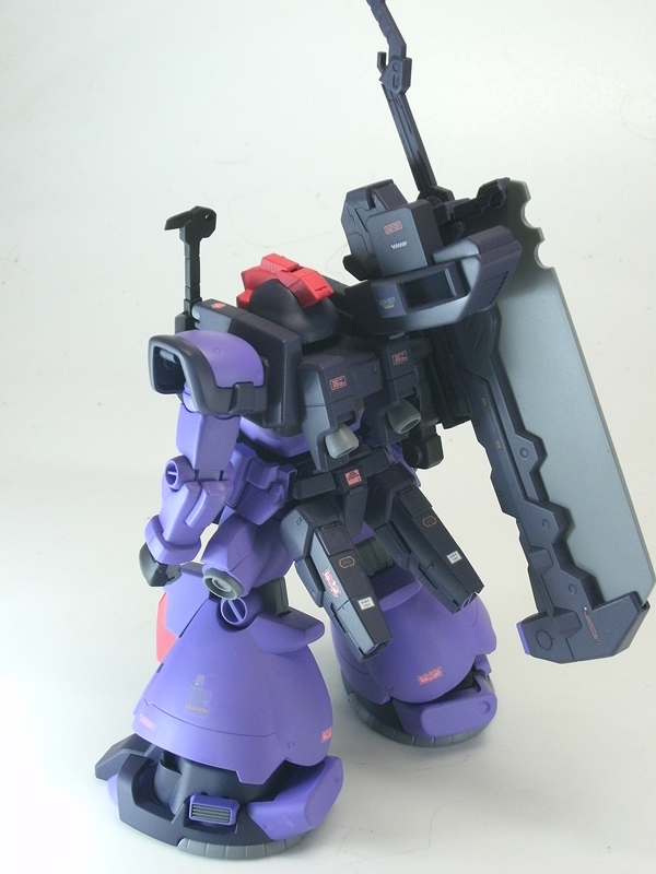 Custom Build: HG 1/144 MS-09F/Gb Dom Gross Beil