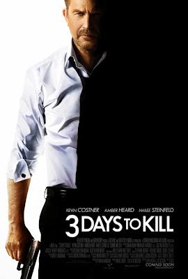 Kevin Costner în primul poster oficial pentru 3 Days To Kill