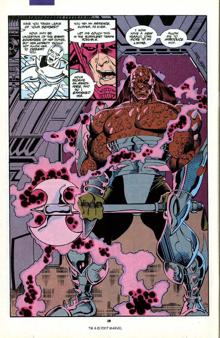 Read online Silver Surfer (1987) comic -  Issue #70 - 30
